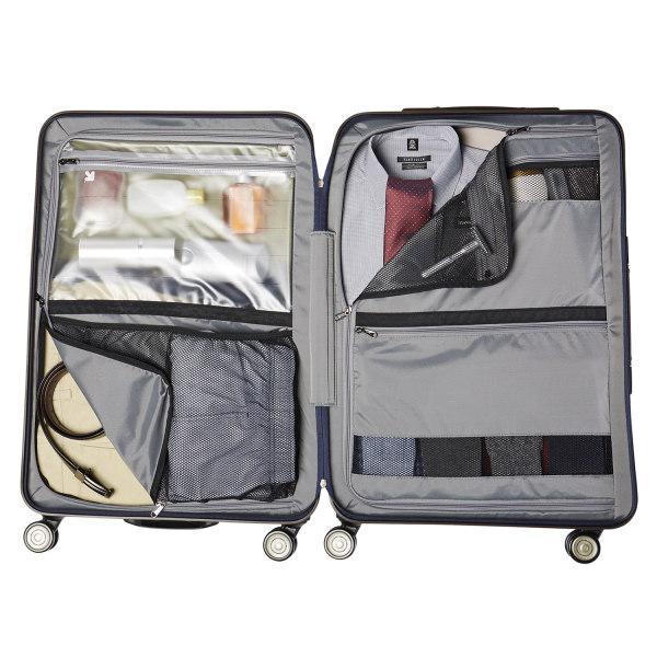 Pros of hard side luggage - more organization