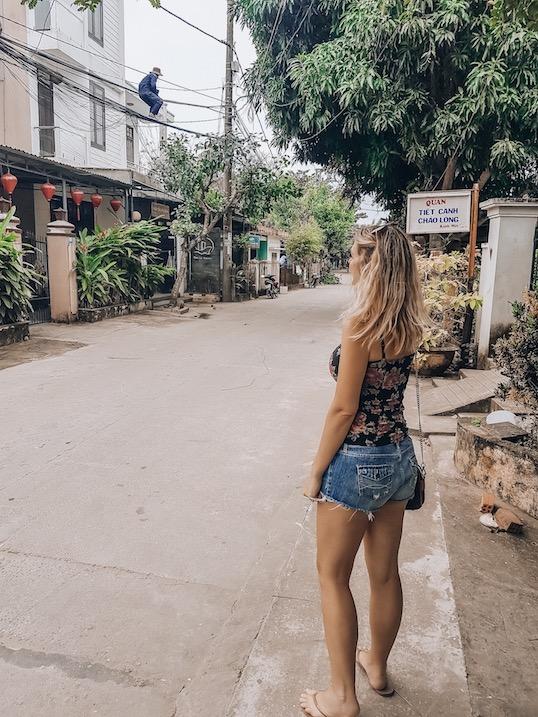 Kashlee Kucheran in Hoi An Vietnam