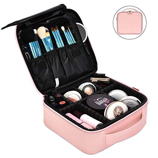 makeup bag for travelling women