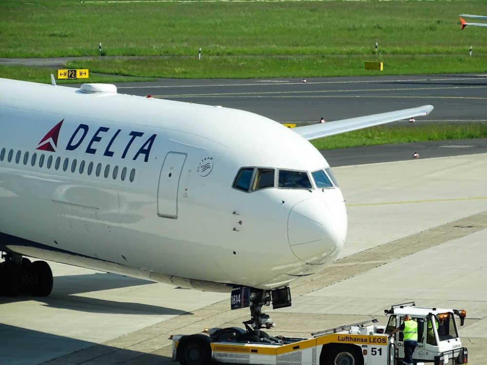 Delta Engine Blows