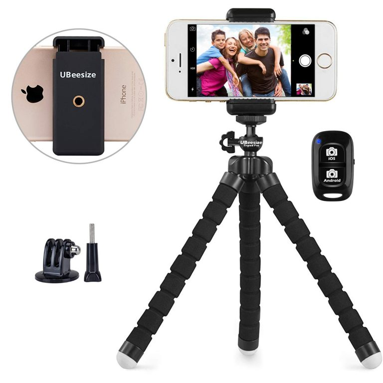 iphone tripod is a great travel gift