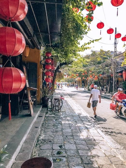 city of lanterns in Vietnam