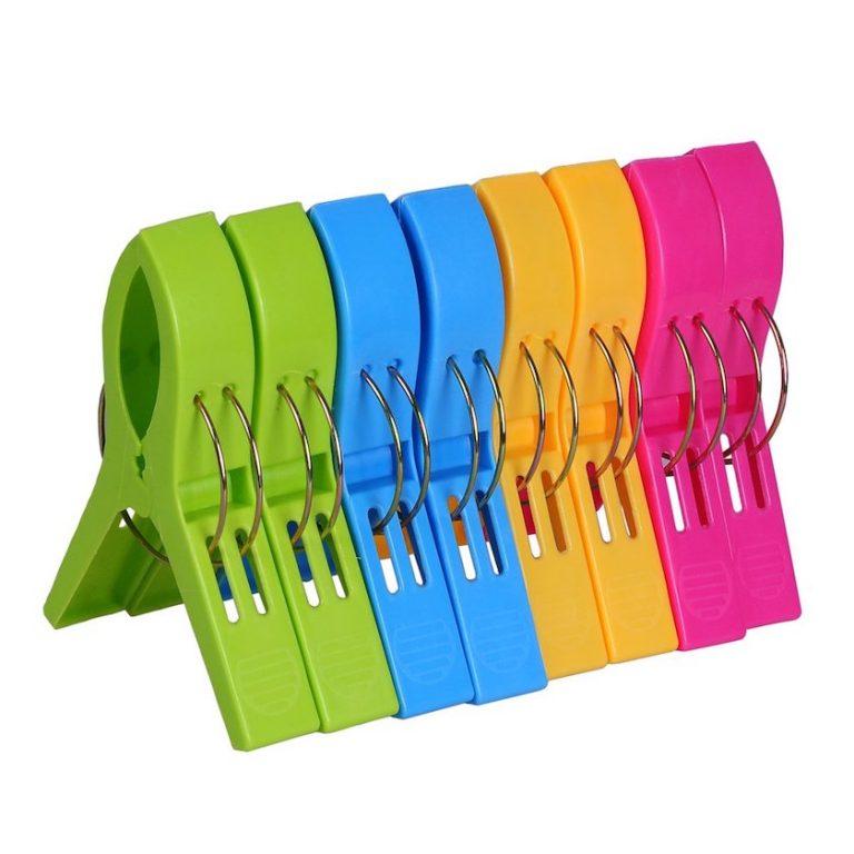 towel clips - travel gear