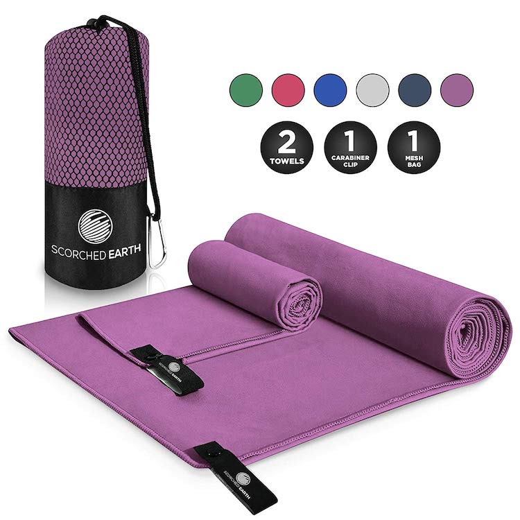 travel towel - travel gifts for women