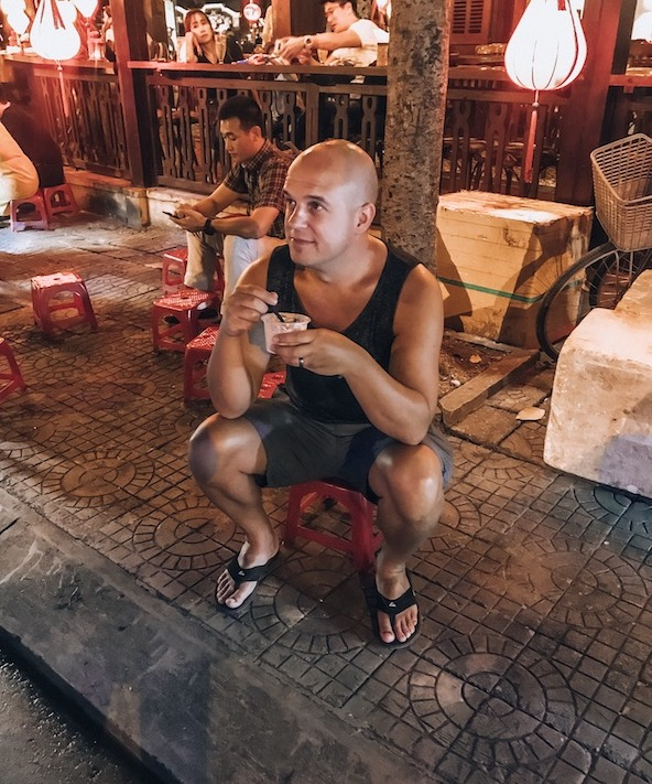 Trevor Kucheran in Hoi An Vietnam - the truth about living there