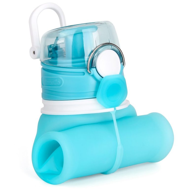 travel accessories for women - collapsible water bottle