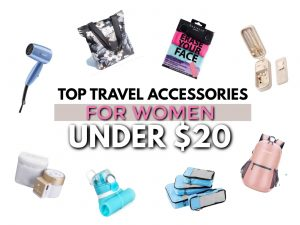 top 40 travel gifts for women under $20