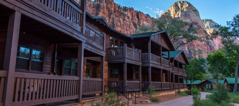 zion lodge - the only hotel truly inside Zion National Park