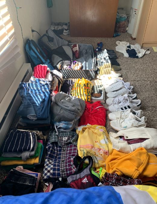 50 clothing items