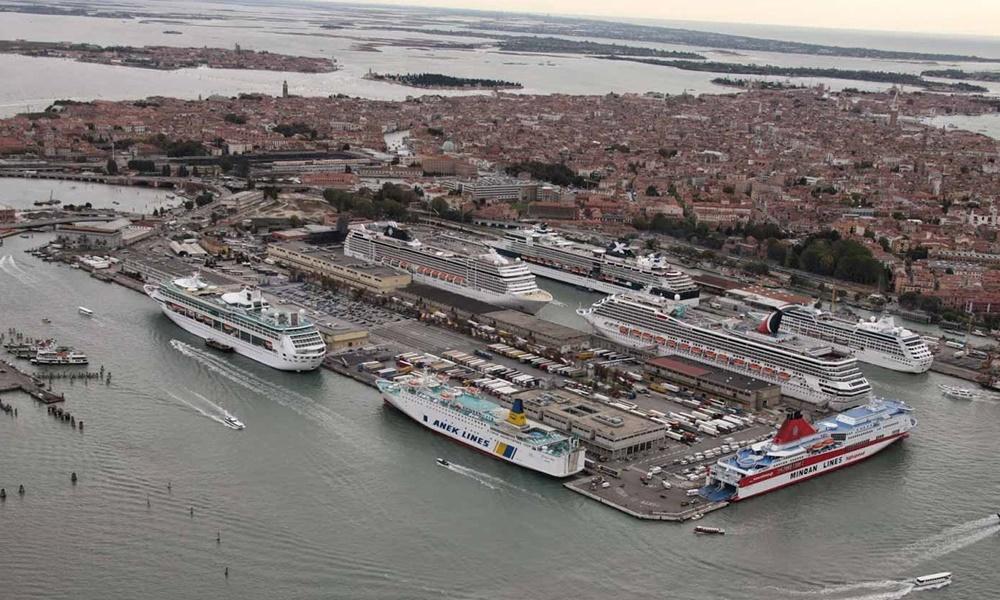 Cruise Ships Venice