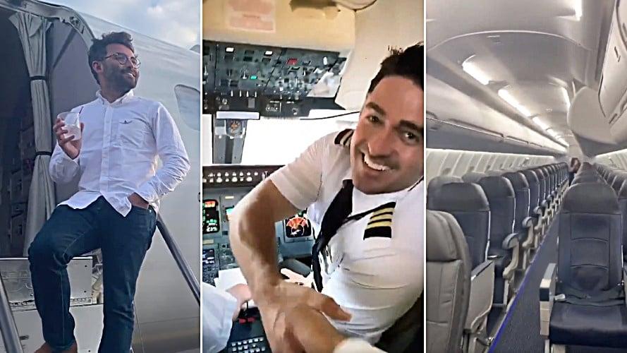 Only Person On Flight Delta Passenger (2)