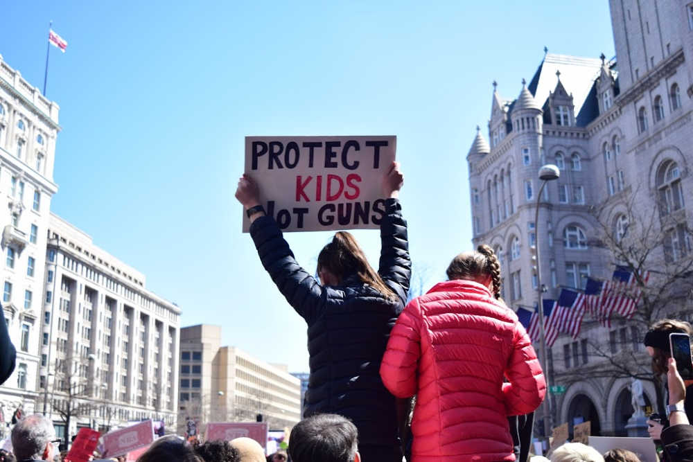 Protest in the united states on guns