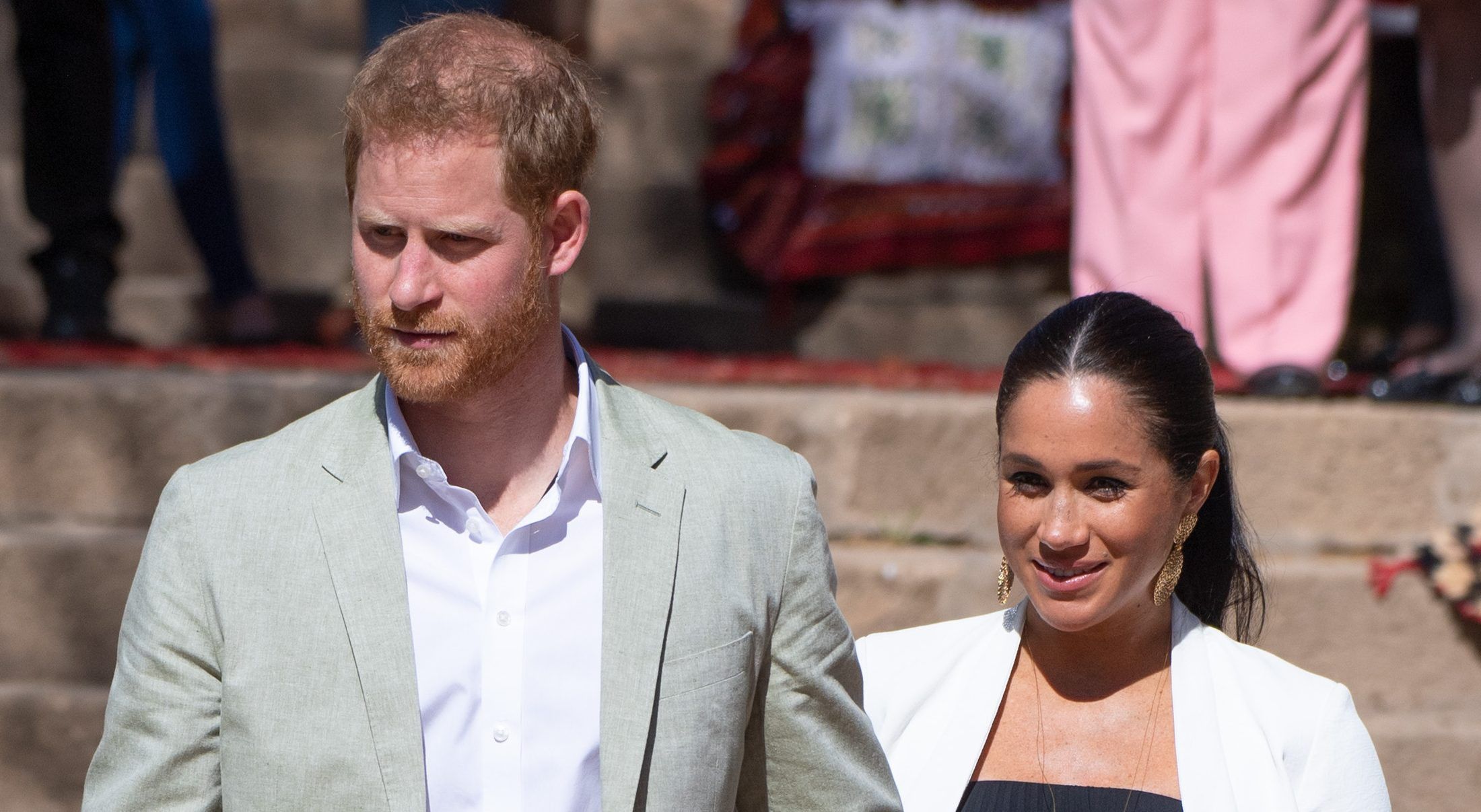 Prince Harry and Meghan Blasted
