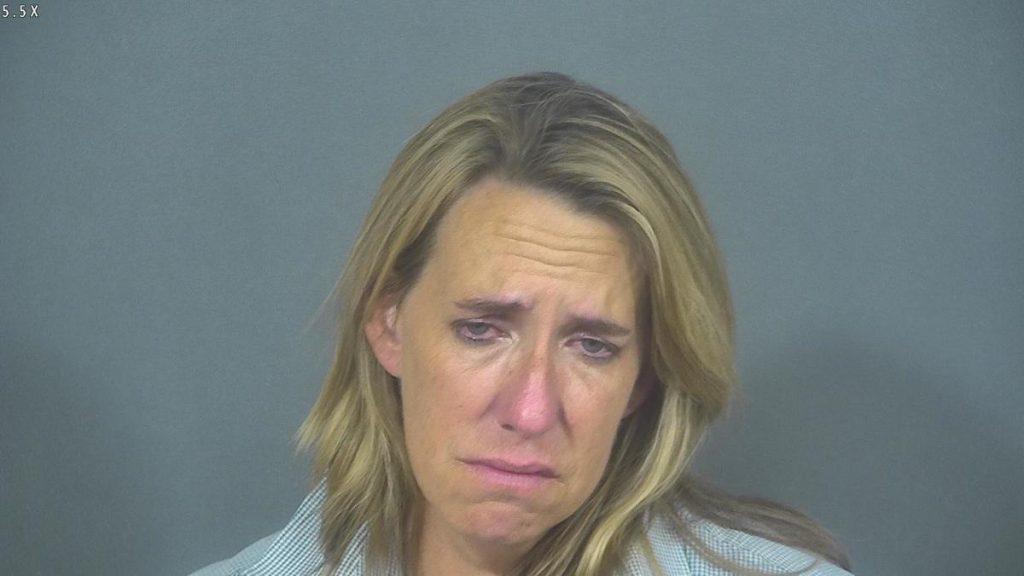 Woman mug shot