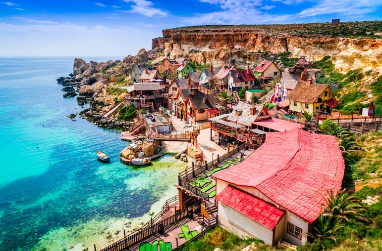 Malta is one of the warmest places in Europe to visit this winter
