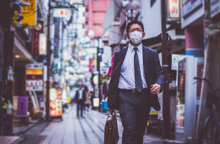It's normal to wear masks in Japan
