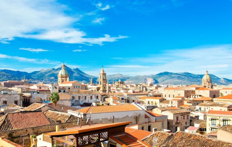 Palermo Italy is one of Europe's warmest cities