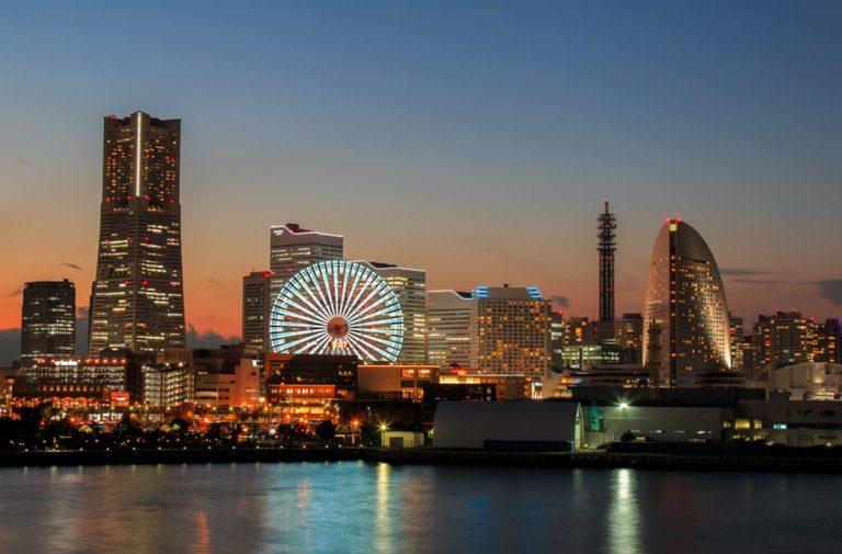 Take a ship to Japan instead of flying - yokohama port