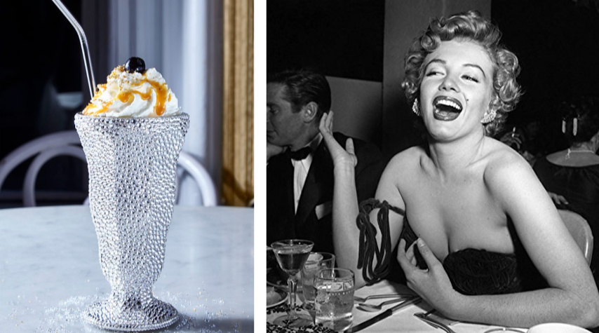 InstaFamous Airbnb Experience - Sip the World's Most Expensive Milkshake in Marilyn Munroe's Seat
