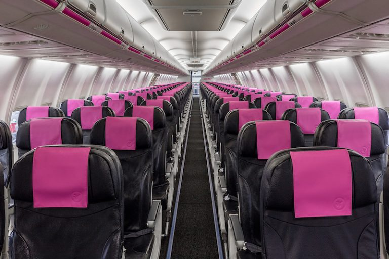 Seat selection on swoop