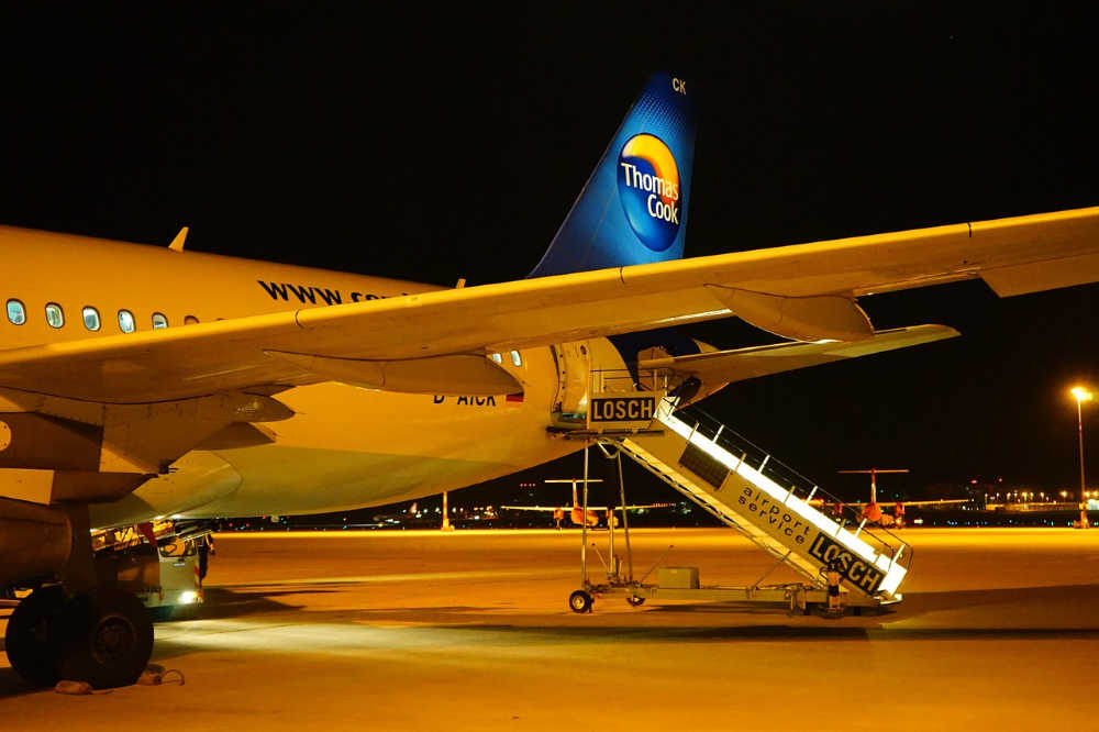 Thomas Cook Planes Grounded
