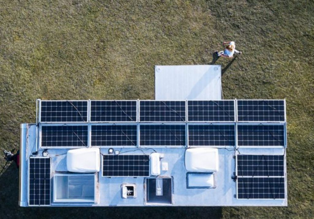 Trailer Solar Panels