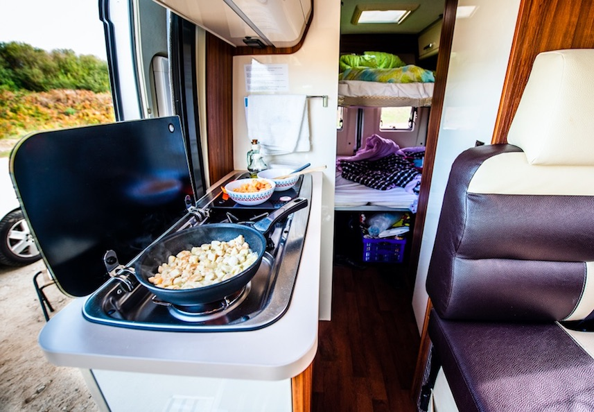 Everything is smaller in an RV