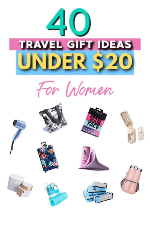 40 travel gifts under $20 for her