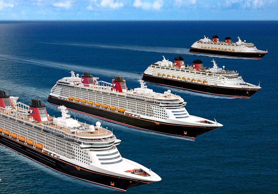 disney cruise 4 ships