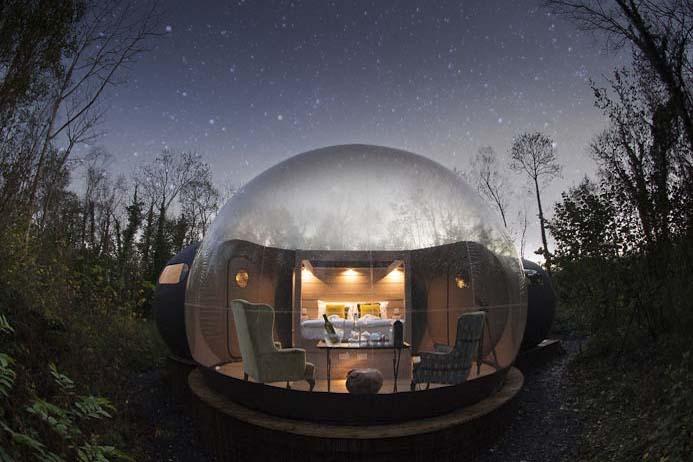 Finn lough bubble hotel