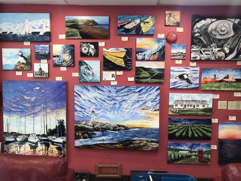 Tripp's Gallery maritime art