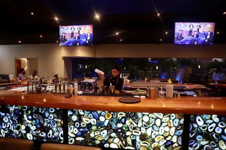 bartender at Agatha Mazatlan