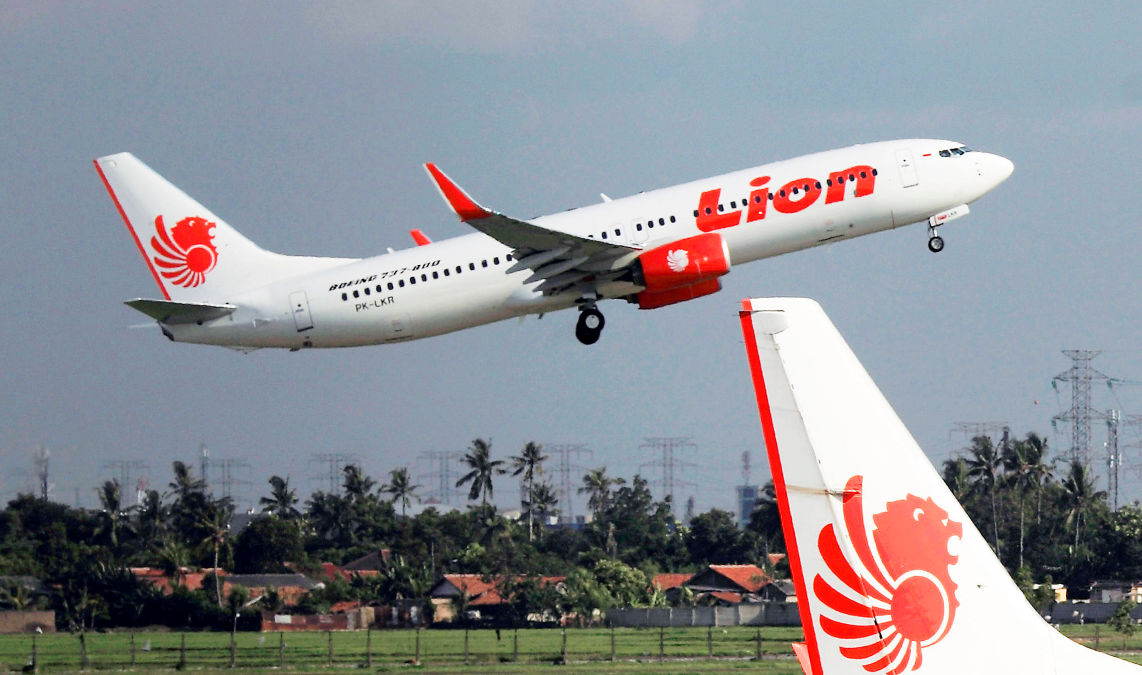 Lion Air crash results of report cause of crash
