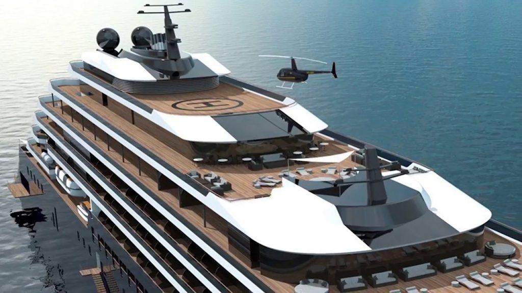 Ritz carlton cruises= ship