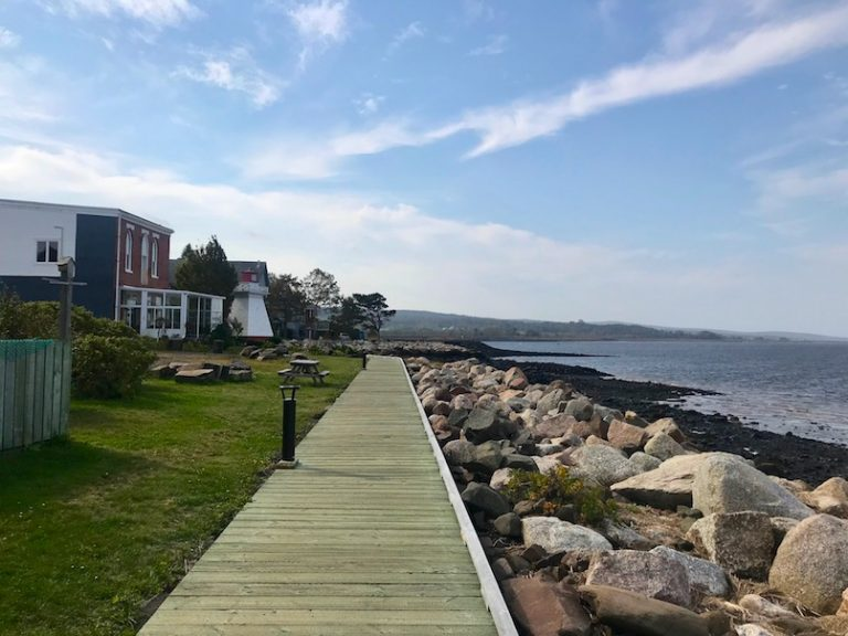 Boardwalk in Annapolis Royal