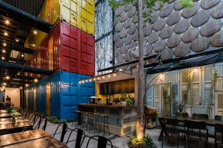 weird and unique hostels - ccasa in nha trang