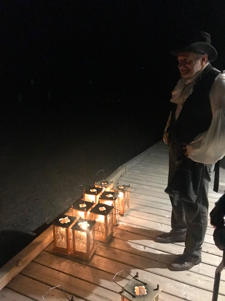 Graveyard tour with Alan Melanson in Annapolis Royal
