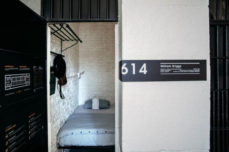 unique hotels in canada - ottawa jail hostel