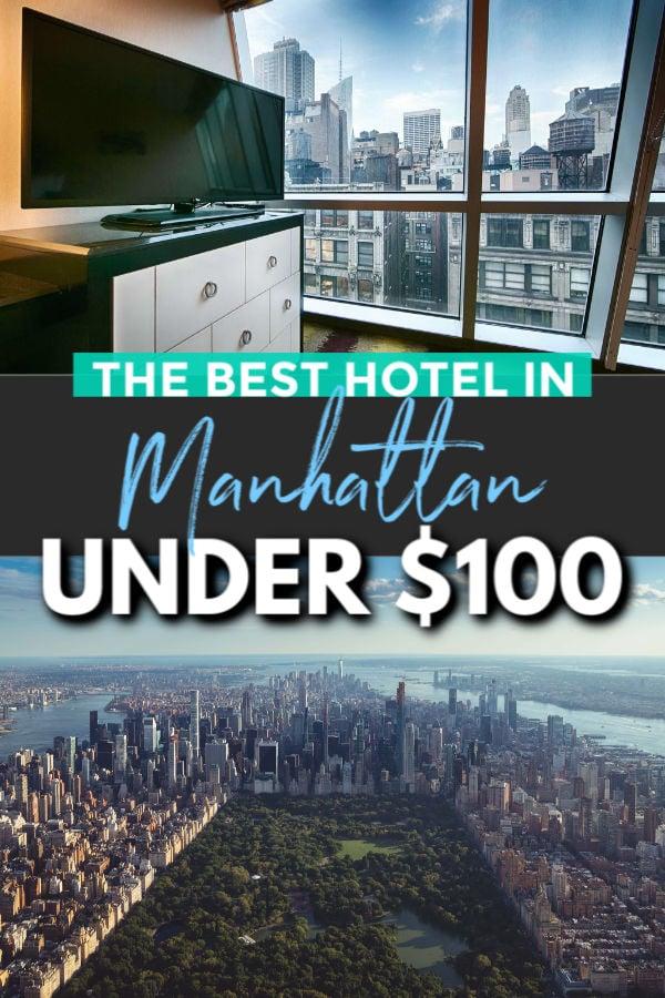 best hotel in downtown manhattan under $100