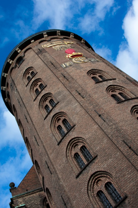round tower - cheap or free things to do in copenhagen