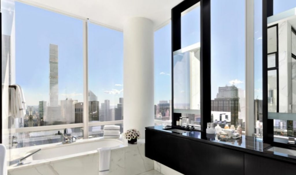 Park hyatt new york suite bathroom