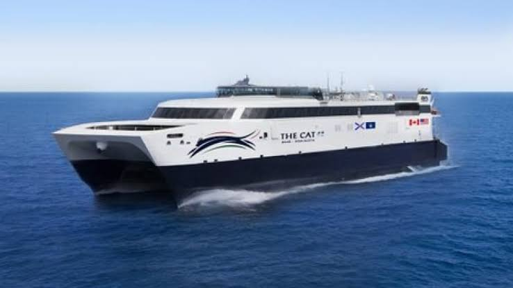 CAT ferry from Maine to Nova Scotia
