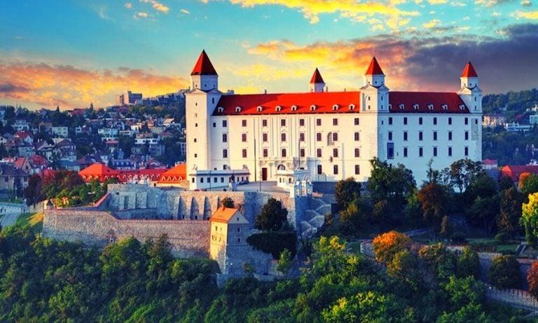 Ubratislava castle