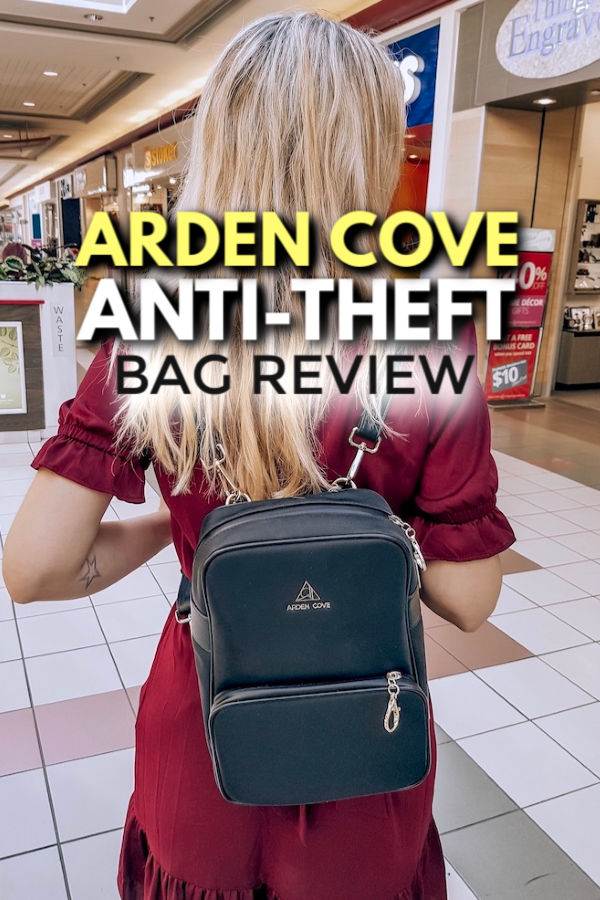 Arden Cove anti-theft bag review
