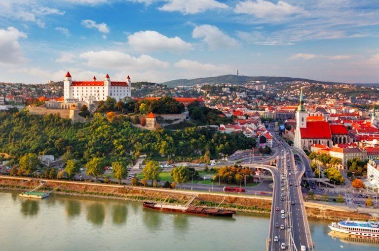 Take a day trip to Bratislava