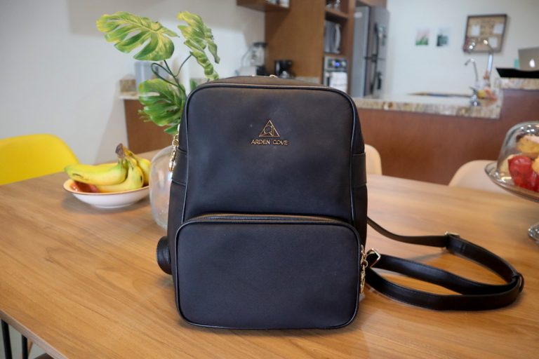 Arden Cove anti-theft backpack review - The Carmel