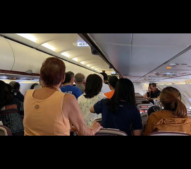 passengers panic