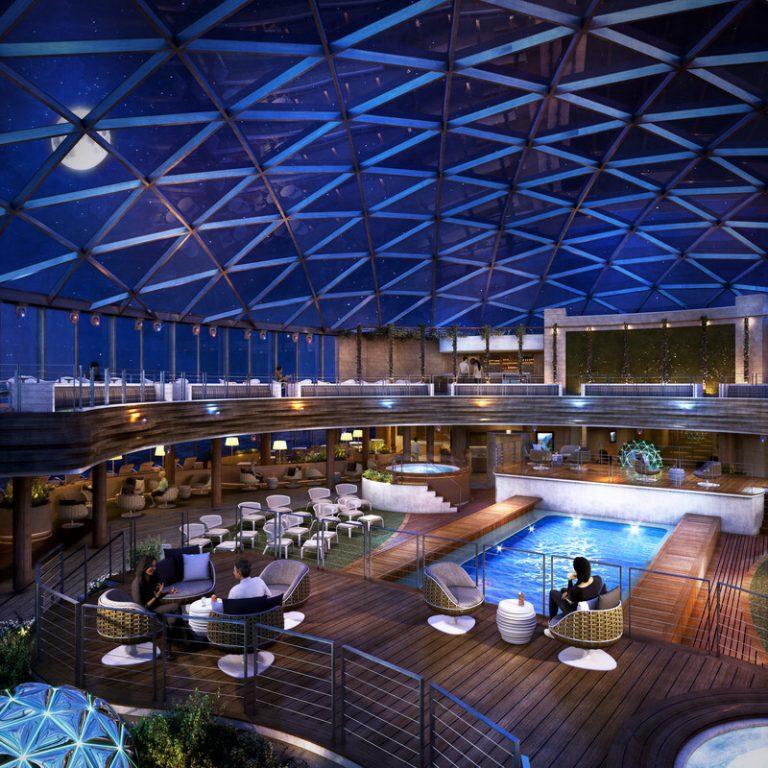 Iona sky dome - cruise ship news
