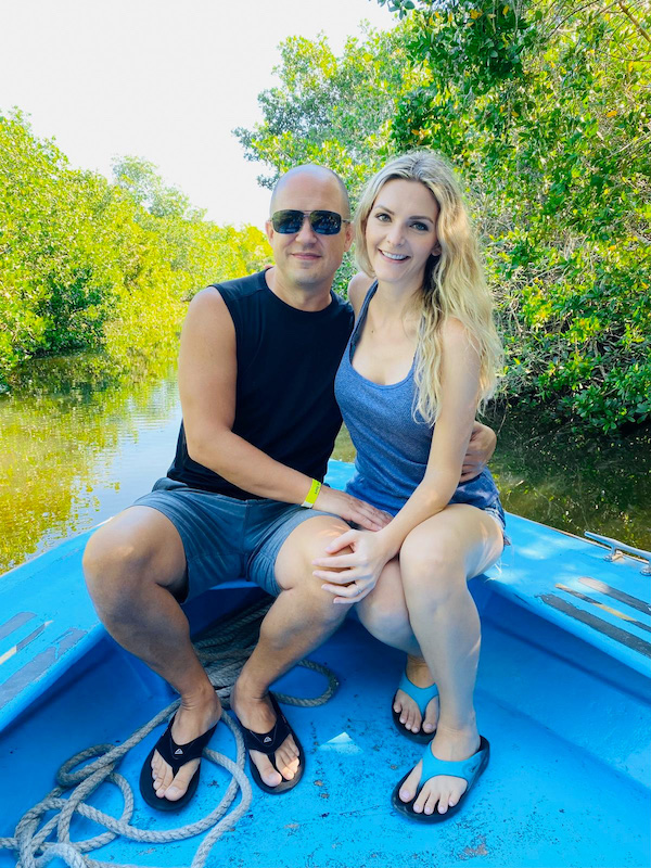Kashlee and trevor on Mazatlán Jungle and Stone Island Tour Review