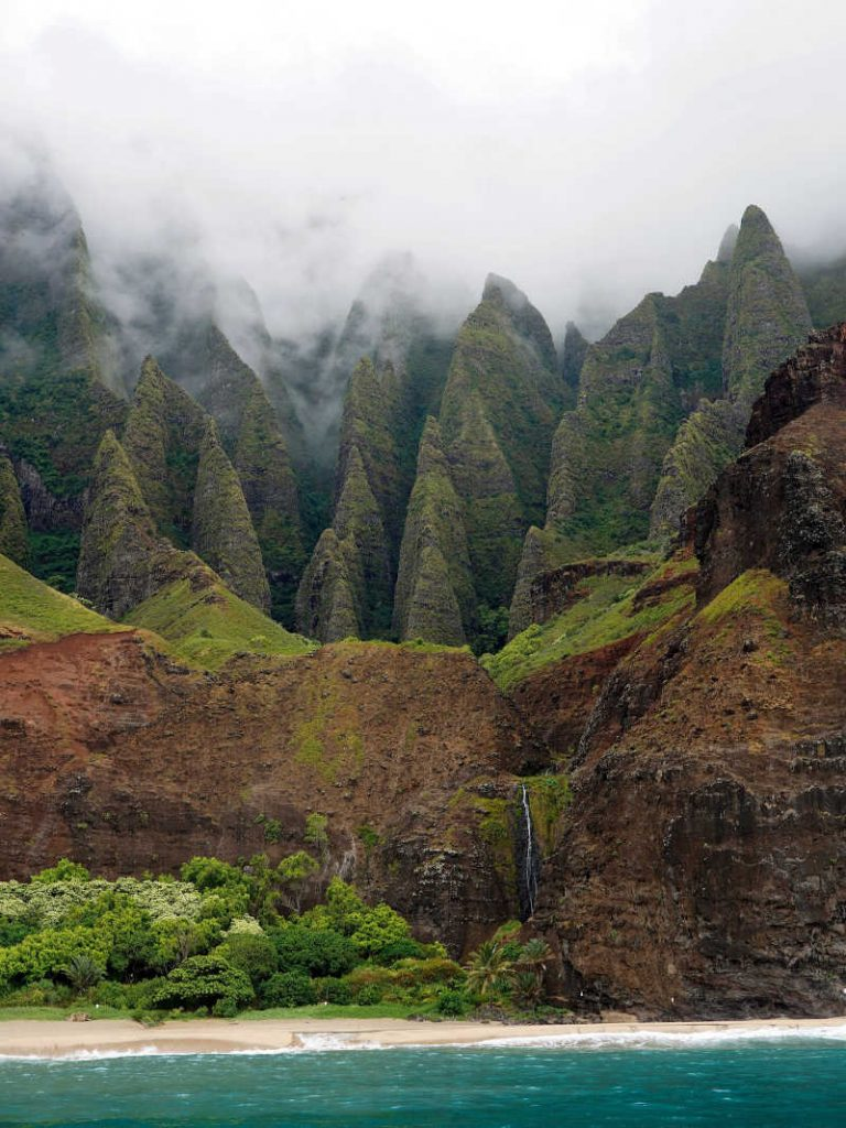 Kauai's Na Pali